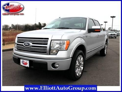 2009 ford f 150 pickup truck 2wd supercrew 145 platinum for sale in mount pleasant texas. Black Bedroom Furniture Sets. Home Design Ideas