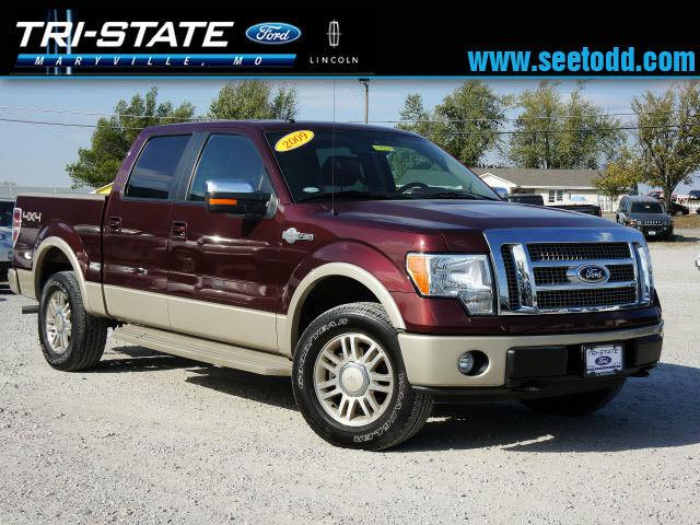 2009 ford f150 king ranch supercrew for sale in maryville missouri classified. Black Bedroom Furniture Sets. Home Design Ideas