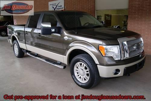 2009 ford f150 supercrew king ranch 4x4 green awesome truck for sale in high springs. Black Bedroom Furniture Sets. Home Design Ideas
