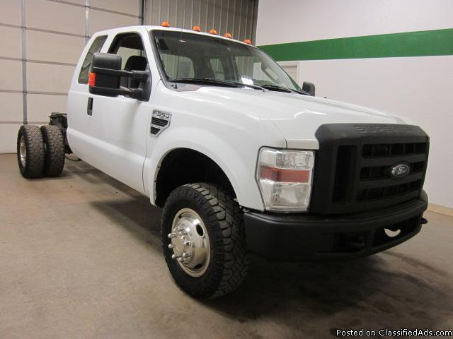2009 ford f350 4x4 v10 extended cab cab chassis automatic for sale in fort lupton colorado. Black Bedroom Furniture Sets. Home Design Ideas