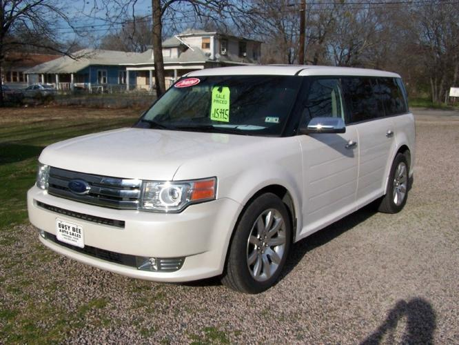 2009 ford flex 4dr limited fwd for sale in corsicana. Black Bedroom Furniture Sets. Home Design Ideas