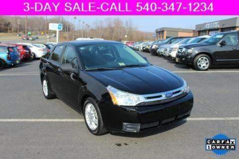 2009 ford focus 4 door sedan for sale in warrenton virginia classified ame. Cars Review. Best American Auto & Cars Review
