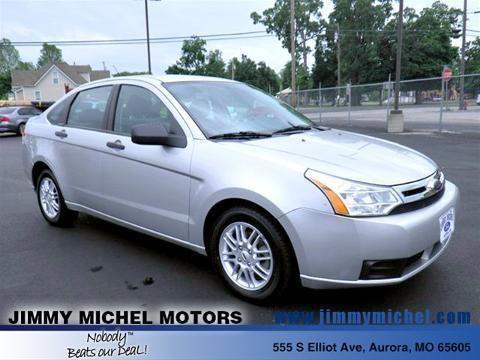 Jimmy Michel Motors Used Cars >> 2009 FORD FOCUS 4 DOOR SEDAN for Sale in Aurora, Missouri Classified | AmericanListed.com