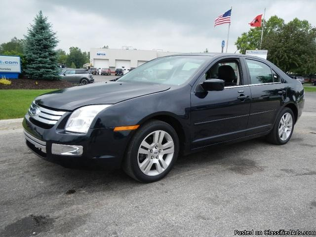 2009 ford fusion sel for sale in byron center michigan classified. Black Bedroom Furniture Sets. Home Design Ideas