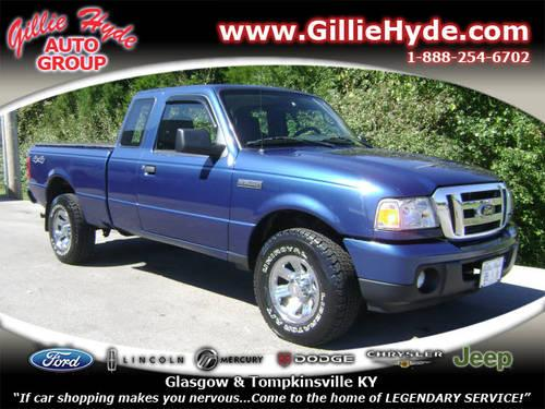 2009 Ford Ranger Extended Cab Pickup 4x4 Xlt 4x4 For Sale