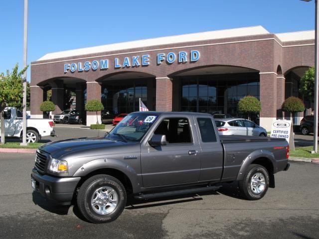 2009 ford ranger super cab sport pickup 6 ft for sale in folsom california classified. Black Bedroom Furniture Sets. Home Design Ideas