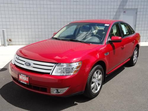 2009 ford taurus 4 door sedan sel for sale in spokane. Black Bedroom Furniture Sets. Home Design Ideas