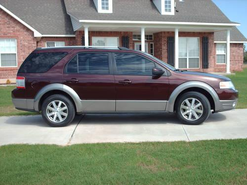 2009 ford taurus x freestyle taurus x for sale in newalla oklahoma classified. Black Bedroom Furniture Sets. Home Design Ideas
