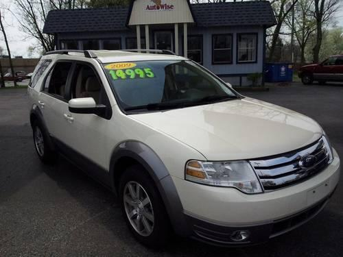 2009 ford taurus x suv retails for 18500 3rd row seat awd save big for sale in louisville. Black Bedroom Furniture Sets. Home Design Ideas