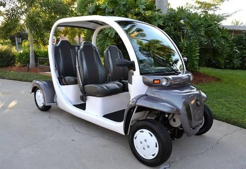 2009 Gem E4 Electric Car Cart Less Than 395 Miles For In Naples Florida