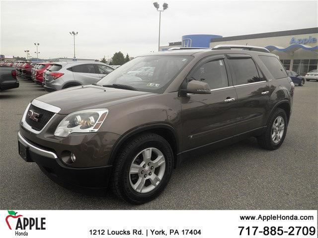 2009 gmc acadia slt 1 awd slt 1 4dr suv for sale in york pennsylvania classified. Black Bedroom Furniture Sets. Home Design Ideas