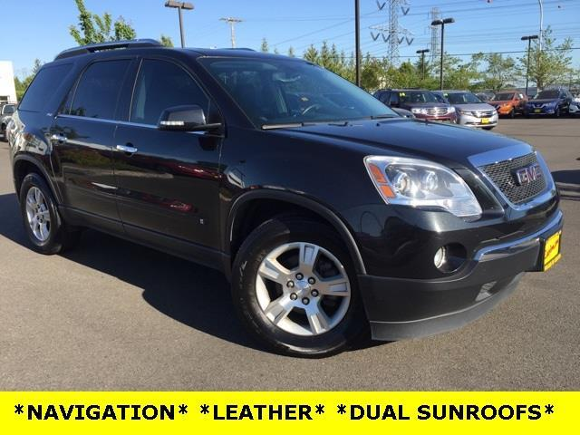 2009 gmc acadia slt 1 awd slt 1 4dr suv for sale in auburn washington classified. Black Bedroom Furniture Sets. Home Design Ideas