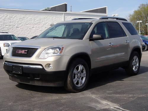 2009 gmc acadia suv sle 1 for sale in grantfork illinois classified. Black Bedroom Furniture Sets. Home Design Ideas
