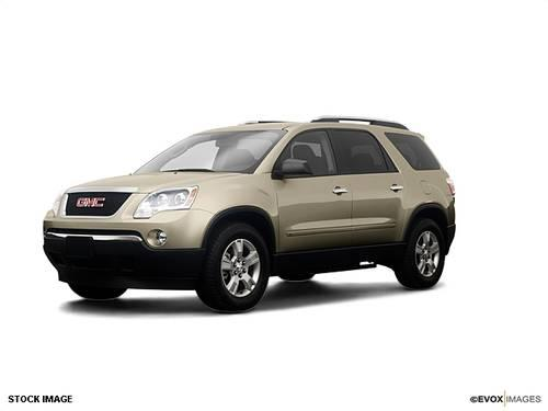 2009 gmc acadia suv sle 1 for sale in spartanburg south carolina classified. Black Bedroom Furniture Sets. Home Design Ideas