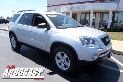 2009 gmc acadia suv sle for sale in troy ohio classified. Black Bedroom Furniture Sets. Home Design Ideas