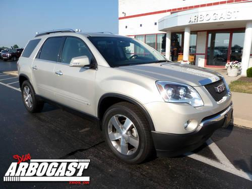 2009 gmc acadia suv slt for sale in troy ohio classified. Black Bedroom Furniture Sets. Home Design Ideas