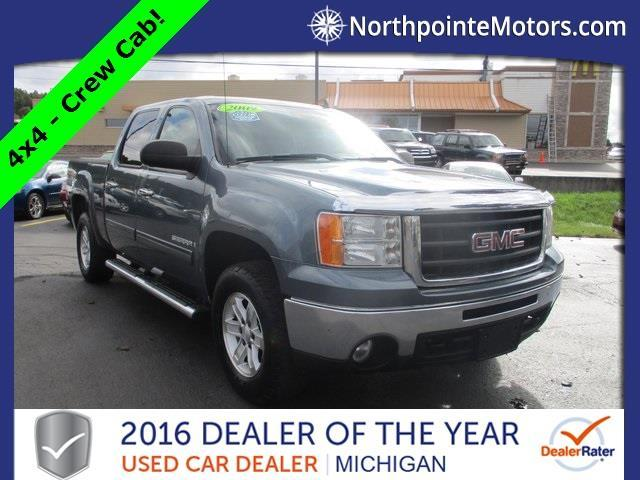 2009 gmc sierra 1500 sl 4x4 sl 4dr crew cab 5 8 ft sb for for North point motors traverse city
