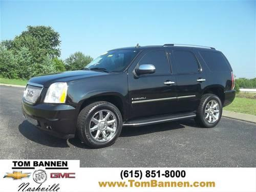 2009 gmc yukon suv denali awd w nav sunroof dvd for sale in am qui tennessee classified. Black Bedroom Furniture Sets. Home Design Ideas