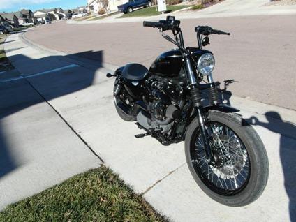2009 Harley Davidson Nightster with Trask Turbo Kit