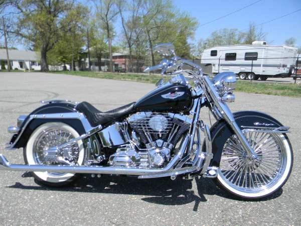 2009 harley davidson softail deluxe for sale in springfield massachusetts classified. Black Bedroom Furniture Sets. Home Design Ideas