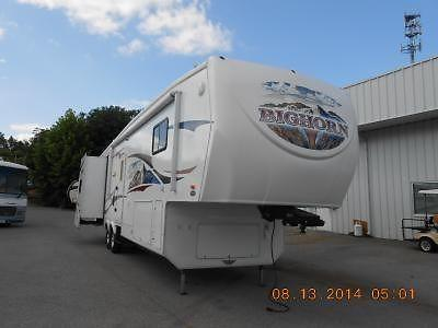 2009 heartland bighorn 3385rl fifth wheel trailer for sale in johnson city tennessee. Black Bedroom Furniture Sets. Home Design Ideas