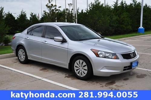 2009 Honda Accord 4D Sedan LX for sale in Katy, Texas