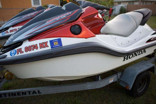 2009 Honda Aquatrax Two F 15 F15 Jet Ski Non Turbo Mint