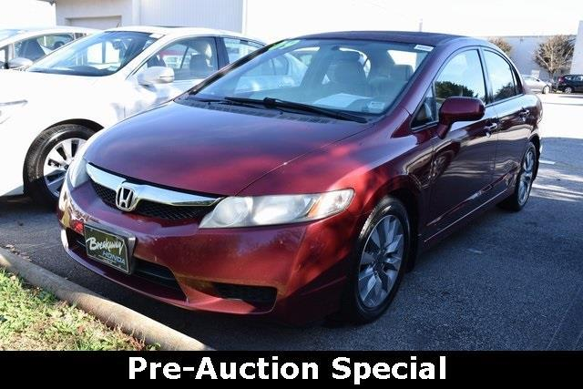 2009 Honda Civic EX EX 4dr Sedan 5A