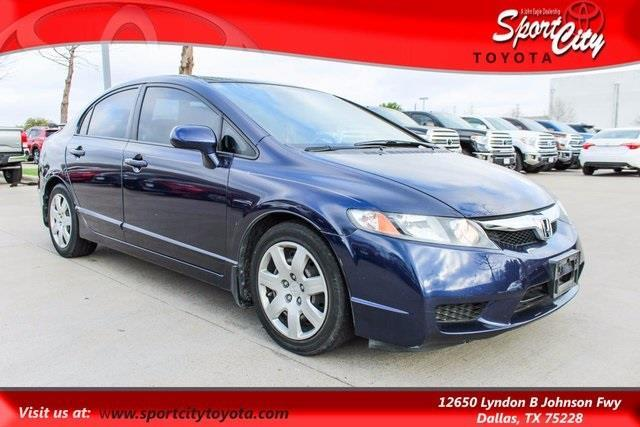 2009 honda civic lx lx 4dr sedan 5a for sale in dallas texas classified. Black Bedroom Furniture Sets. Home Design Ideas