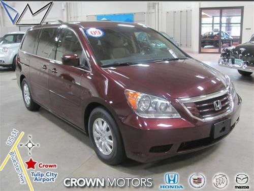 2009 Honda Odyssey Minivan Ex For Sale In Holland