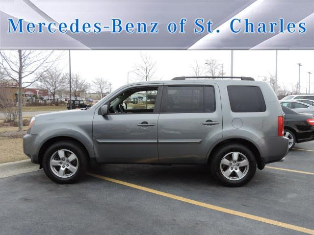 2009 honda pilot ex l w dvd 4x4 ex l 4dr suv w dvd for sale in saint charles illinois. Black Bedroom Furniture Sets. Home Design Ideas