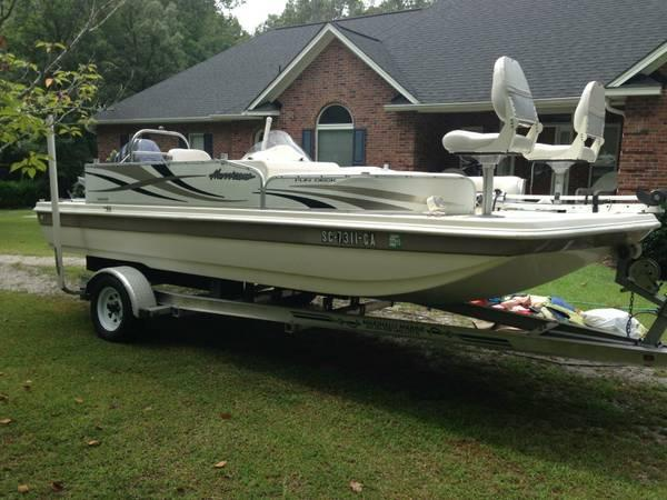2009 Hurricane Deck Boat 115 Yamaha For Sale In Taylors