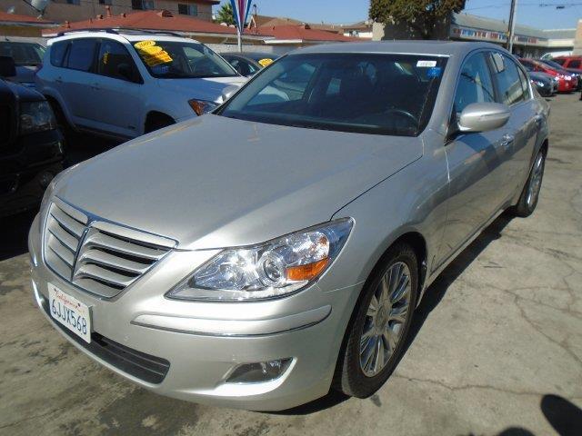 2009 Hyundai Genesis 3.8L V6 3.8L V6 4dr Sedan