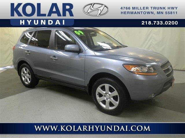 hyundai santa fe limited awd limited dr suv  sale  duluth minnesota classified
