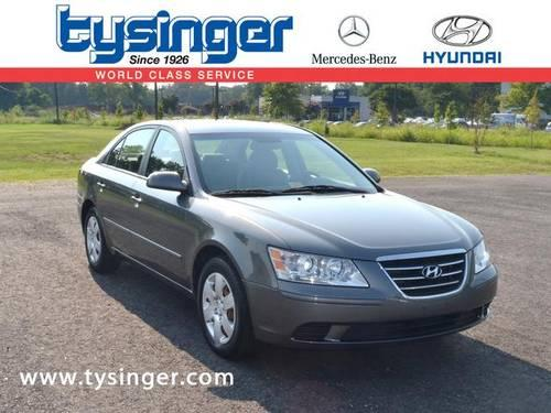 2009 hyundai sonata 4d sedan gls for sale in hampton Tysinger motor company