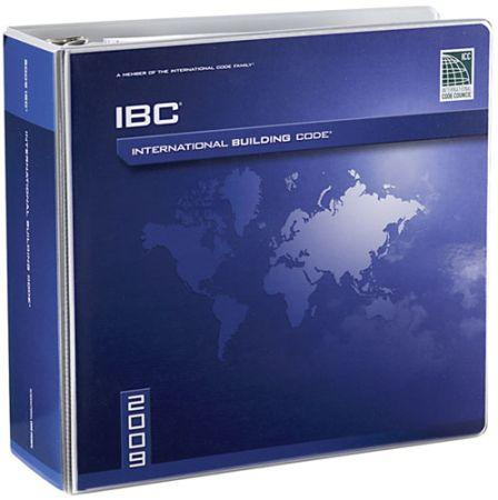 2009 International Building Code Book Ring Bound Loose