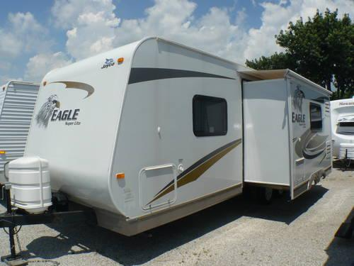 2009 Jayco Eagle Super Lite 256rks Travel Trailer Slide