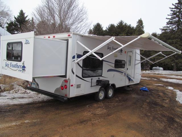 2009 Jayco Jay Feather Exp 213 Light Weight Trailer For