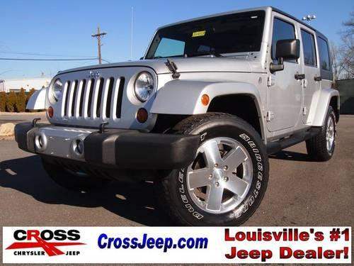 2009 jeep wrangler 4d sport utility unlimited sahara for sale in louisville kentucky classified. Black Bedroom Furniture Sets. Home Design Ideas