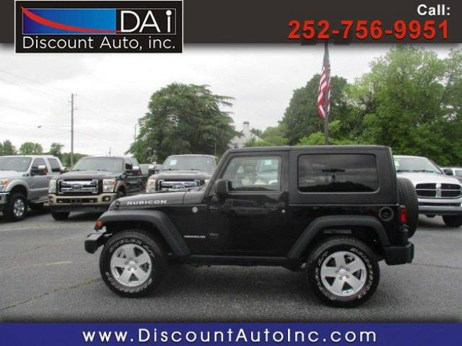 2009 Jeep Wrangler 4wd Rubicon For Sale In Greenville North
