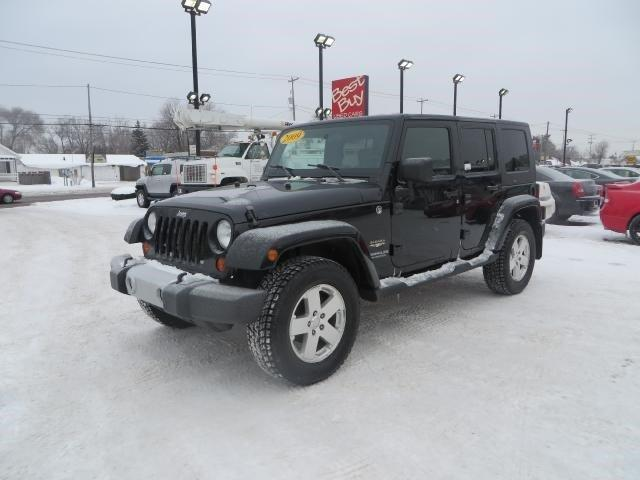 2009 jeep wrangler unlimited 4x4 sahara 4dr suv for sale in wyoming michigan classified. Black Bedroom Furniture Sets. Home Design Ideas