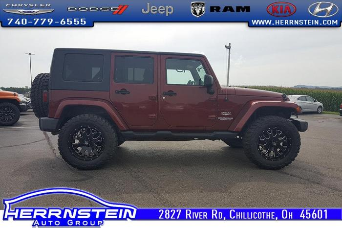 Herrnstein Hyundai Chillicothe Ohio >> 2009 Jeep Wrangler Unlimited Sahara 4x4 Sahara 4dr SUV for ...