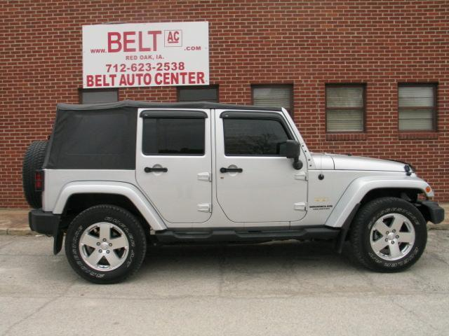 2009 jeep wrangler unlimited sahara for sale in red oak iowa classified. Black Bedroom Furniture Sets. Home Design Ideas