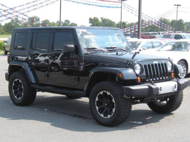 2009 jeep wrangler unlimited sahara for sale in morrilton arkansas classified. Black Bedroom Furniture Sets. Home Design Ideas