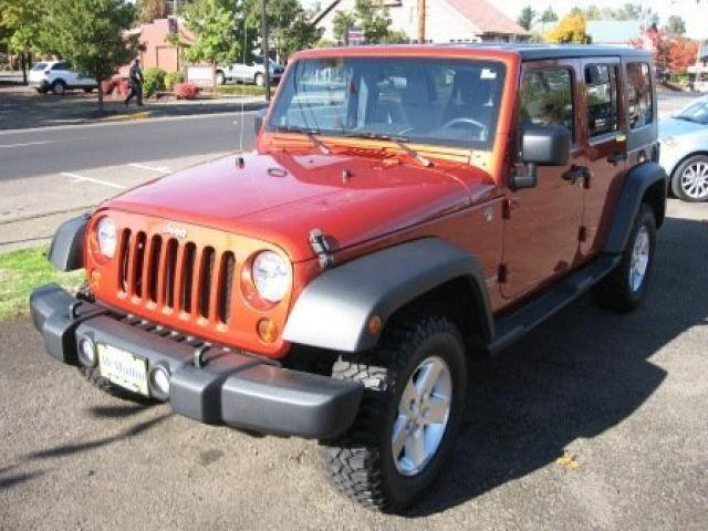 2009 jeep wrangler unlimited x for sale in dallas oregon classified. Black Bedroom Furniture Sets. Home Design Ideas