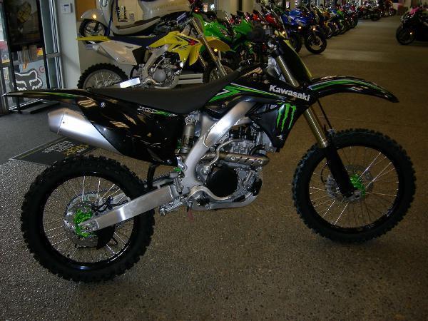 2009 Kawasaki Kx250f Monster Energy For Sale In Otis