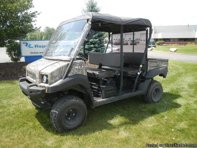 2009 kawasaki mule 4010 utv for sale in byron center michigan classified. Black Bedroom Furniture Sets. Home Design Ideas