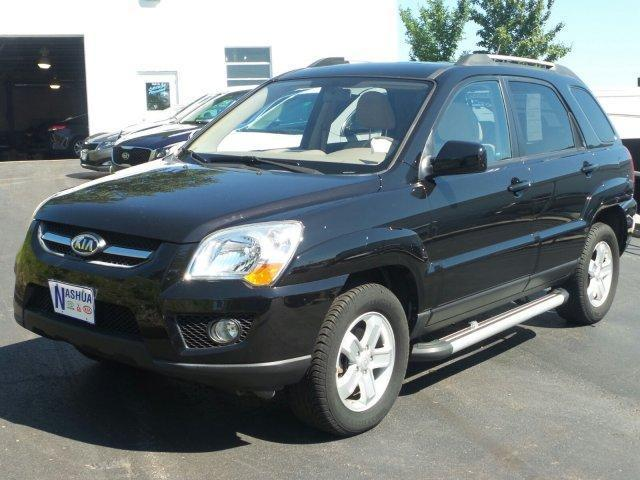 2009 kia sportage lx awd lx v6 4dr suv for sale in nashua. Black Bedroom Furniture Sets. Home Design Ideas