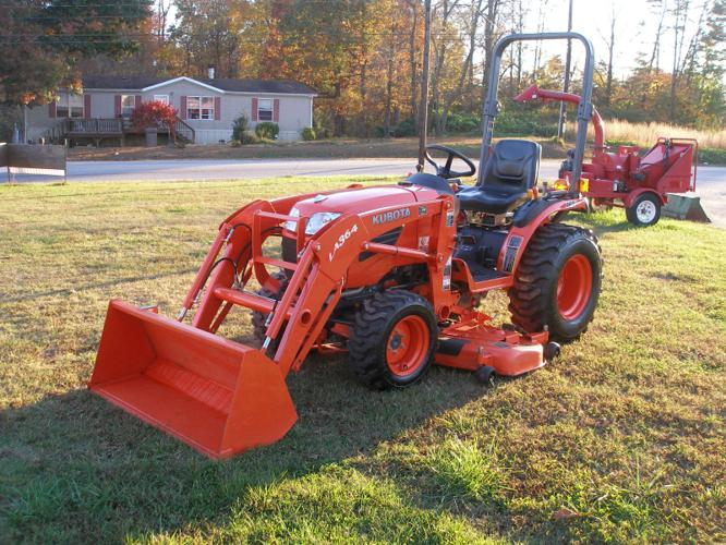 Honda Odyssey All Wheel Drive >> 2009 KUBOTA B2920 4X4 Tractor- for Sale in North ...