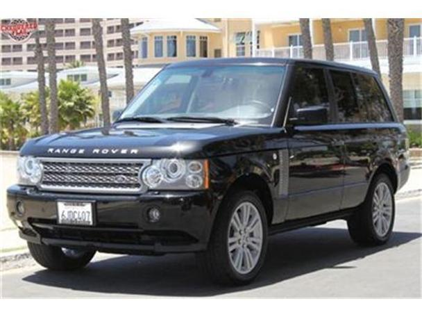2009 land rover range rover for sale in marina del rey california classified. Black Bedroom Furniture Sets. Home Design Ideas